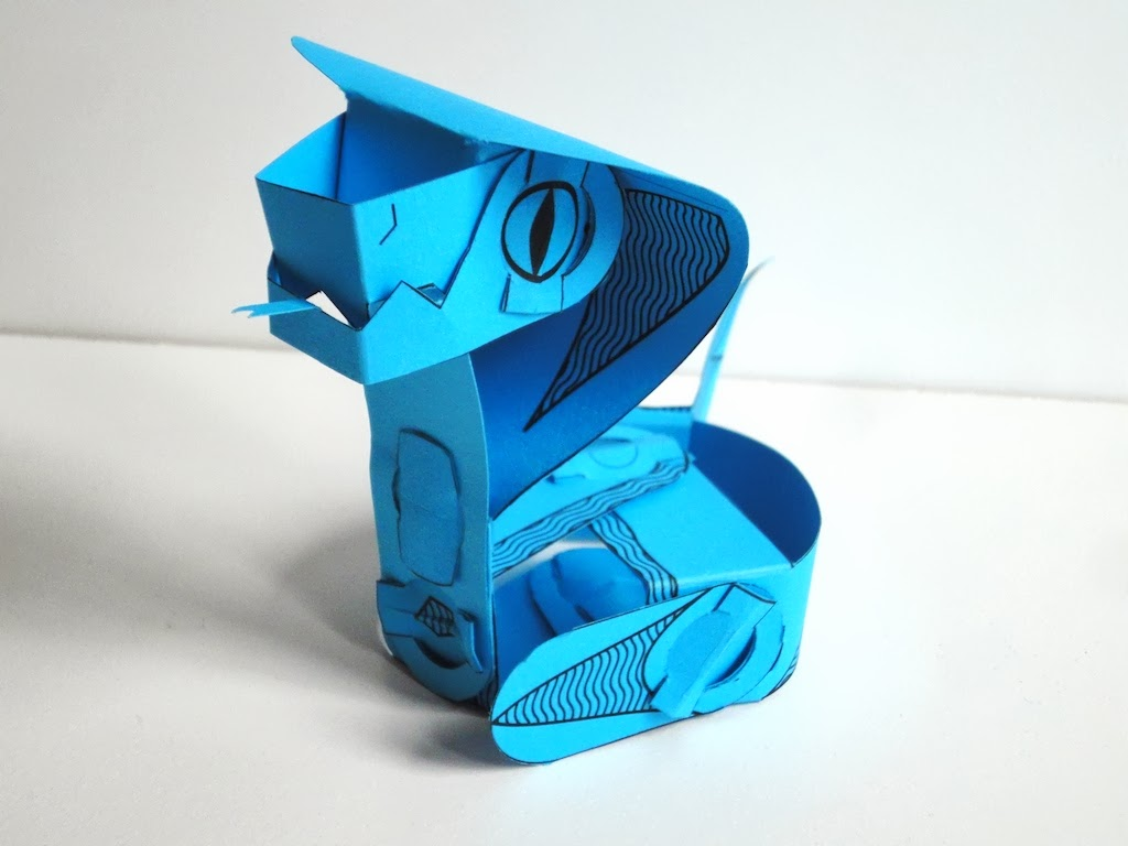 Cobrok Paper Toy