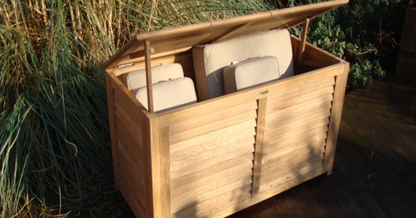 Outdoor Teak Storage Box
