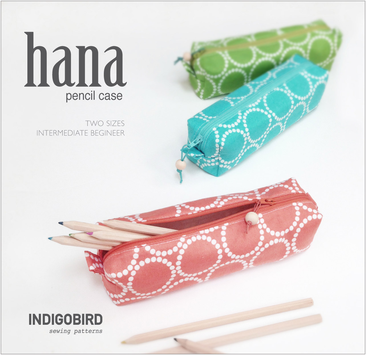 Hana Pencil Case Pattern