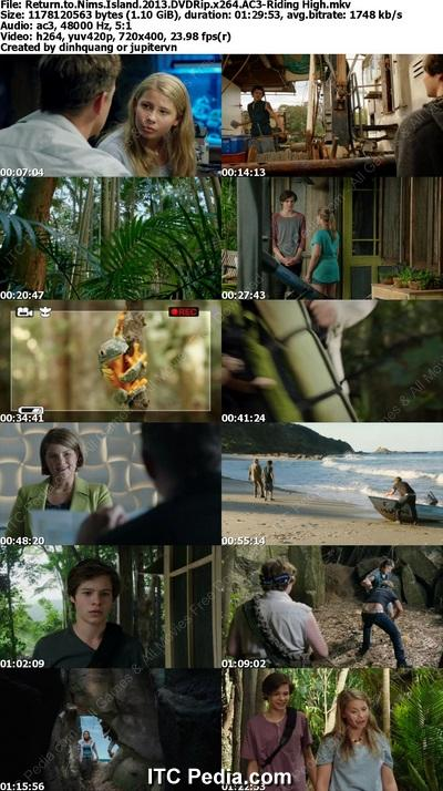 Return to Nim's Island (2013) DVDRip x264 AC3 - Riding High
