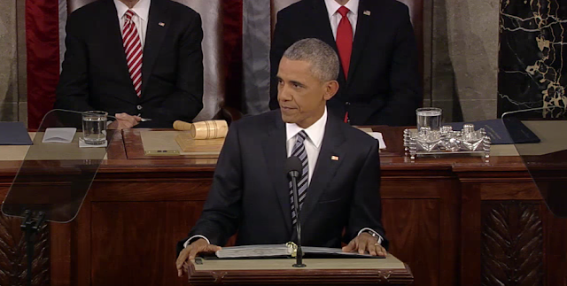 Obama confronts major issues in his last State of Union Address