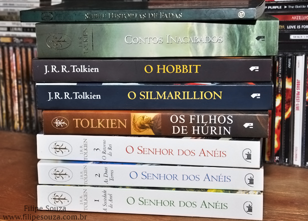 LIVROS DE J. R. R. TOLKIEN
