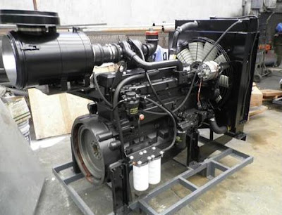 Motores, motobombas y plantas de luz
