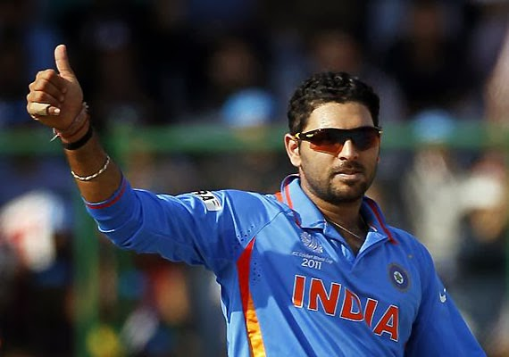Yuvraj is back