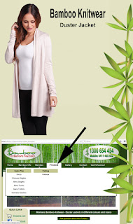 Bamboo Clothing now available on the Bamboo Creations Victoria website