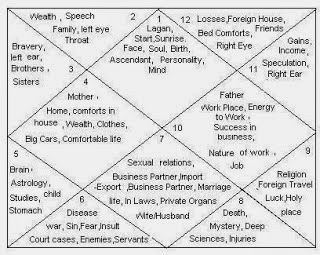 how to read a birth chart houses