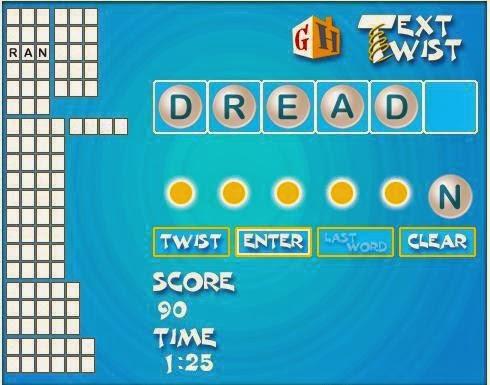 mini game ringan Super TextTwist asah logika dan otak