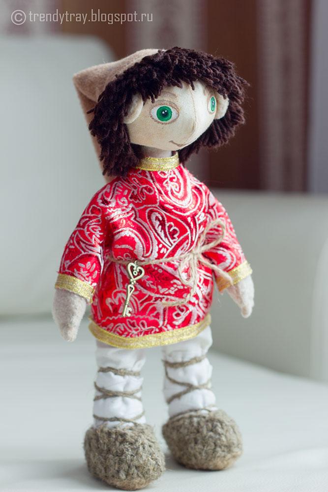 """Интерьерная кукла """"Домовой"""""""