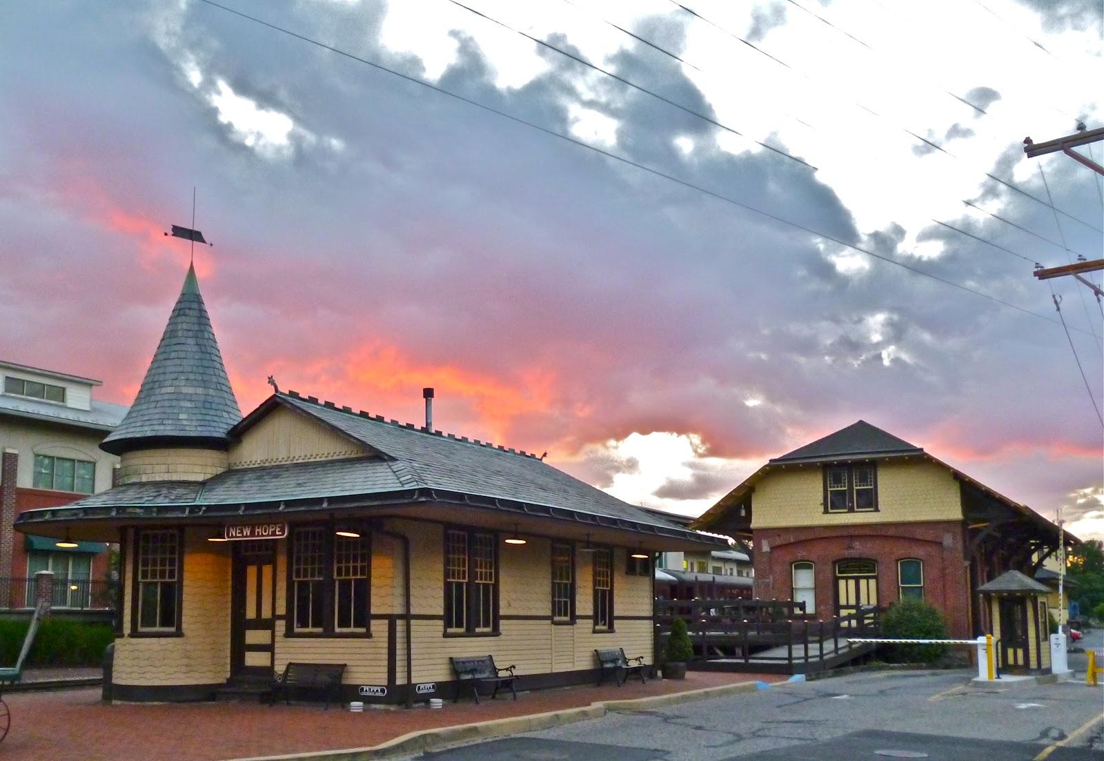 New hope pa train station photo charlie sahner