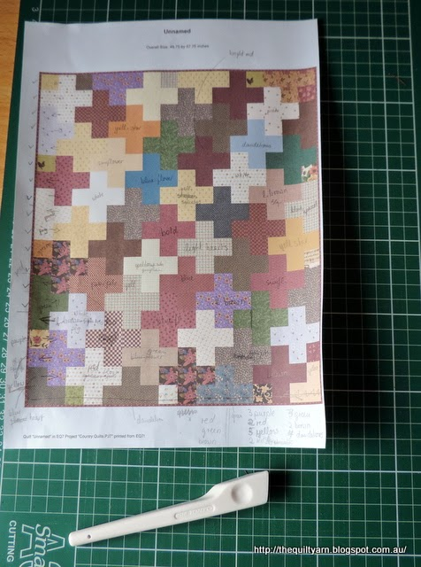 Quilt Patterns On Graph Paper : The Quilt Yarn: Graph Paper Quilt Along 2
