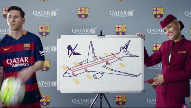 Qatar sigue promocionando su marca junto al Barça