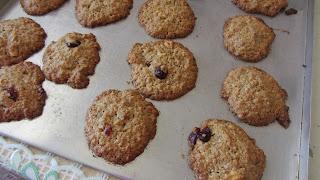 вторая порция печенья спеклась