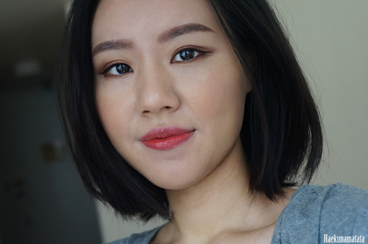 NARS Luster blush review fotd