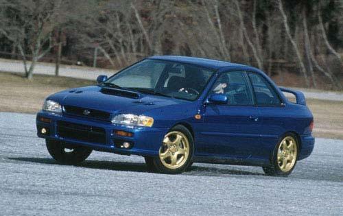 2000 Subaru Impreza Manual