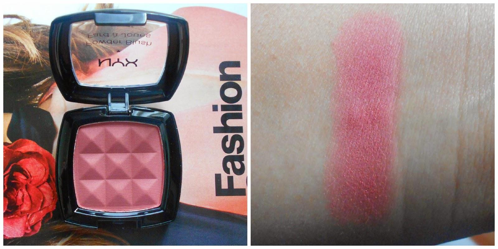 NYX Cosmetics Powder Blush in Dusty Rose