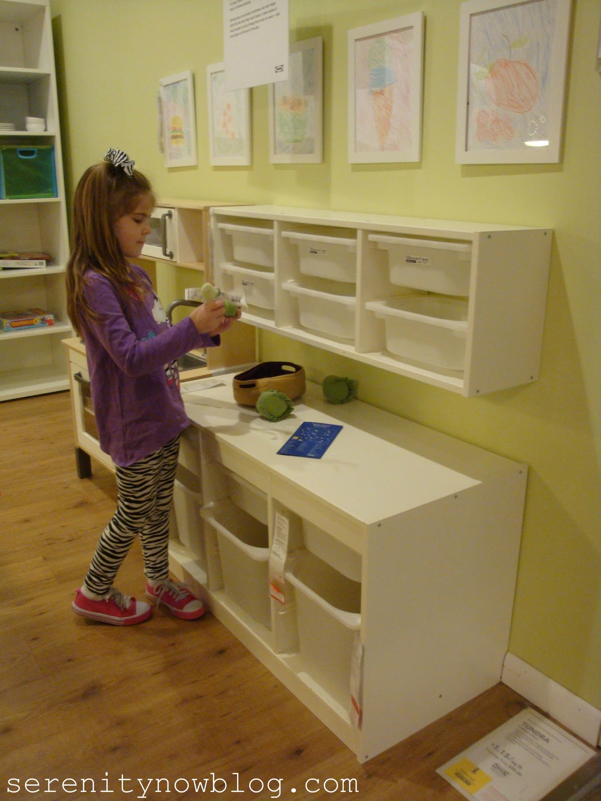 Serenity now home organizing ideas from my ikea shopping for Organized kids rooms