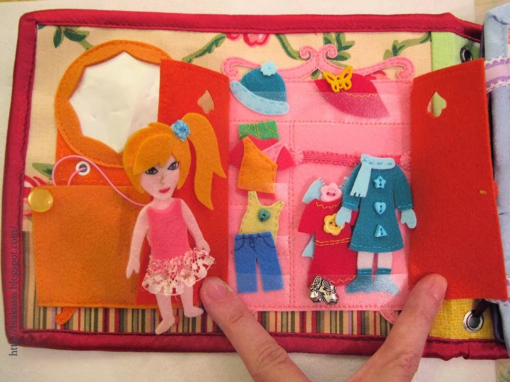 Домик книжка для куклы
