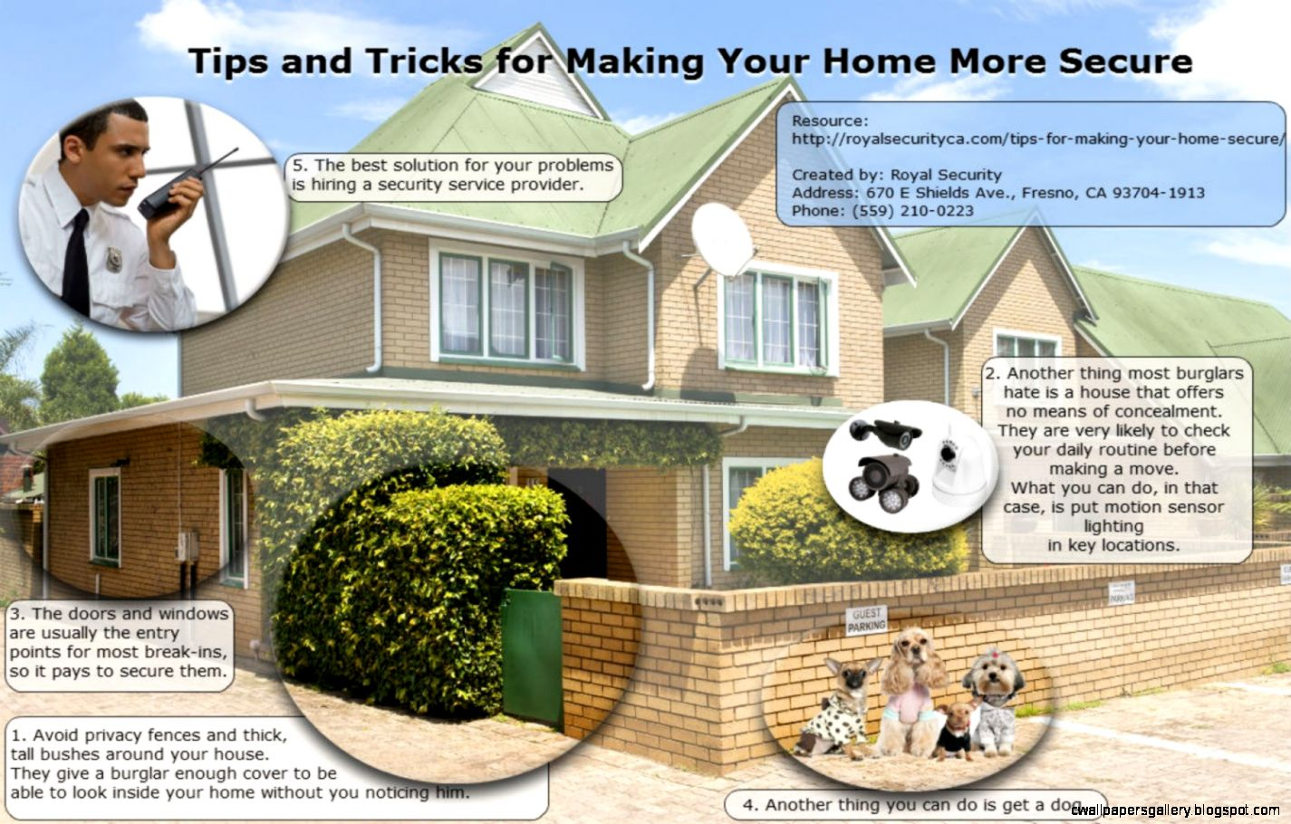 Tips and Tricks for Making Your Home More Secure by Royal Security