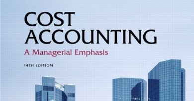 horngren cost accounting 14e Cost accounting, student value edition (14th edition) [charles t horngren,  srikant m datar, madhav v rajan] on amazoncom free shipping on  qualifying.