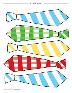 7 inch Paper Ties