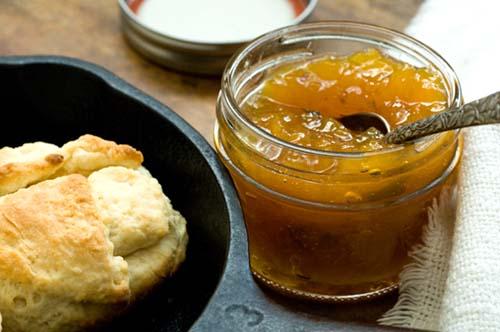 Peach jalapeño jam | Homesick Texan