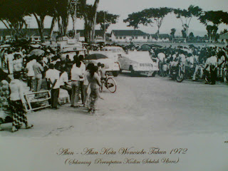 wonosobo city 1972