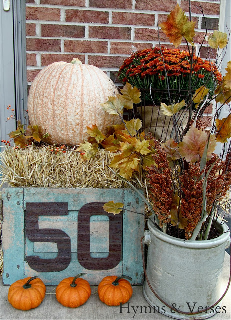 Hymns & Verses Fall Porch Falling For Fall Porch Party From My Front Porch To Yours