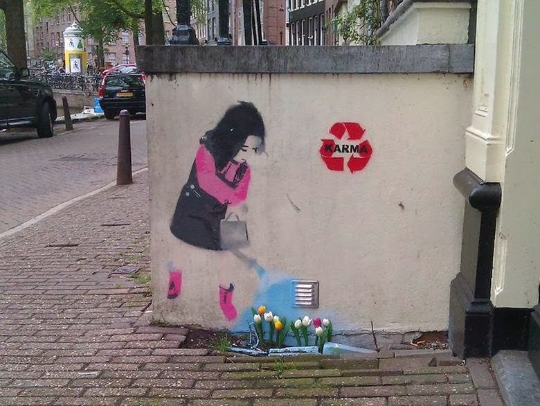 Street Art Sample By Karma