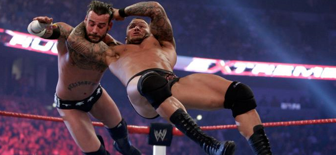 videos randy orton punk last standing match extreme rules