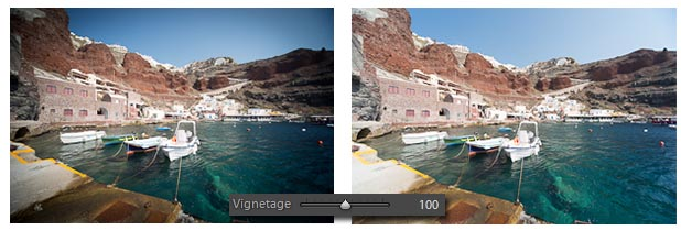 Lightroom - correction du vignetage