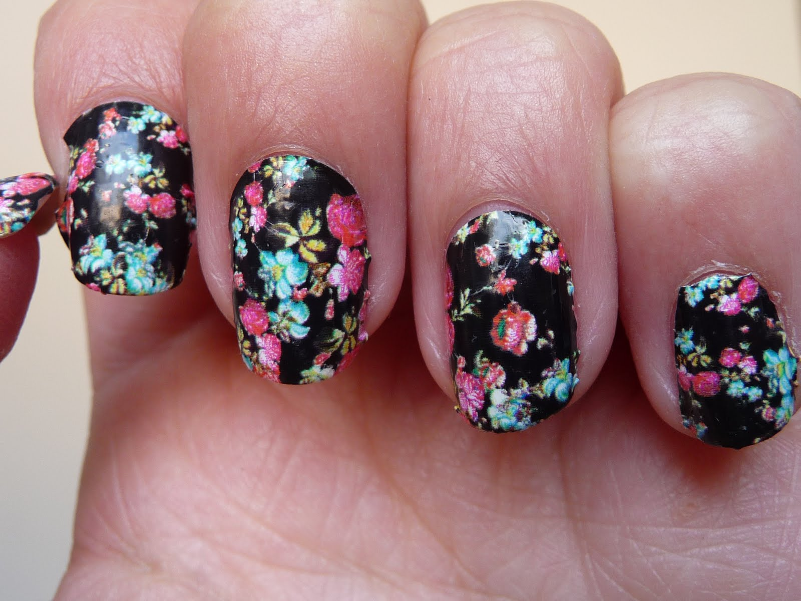 Nail Patch By Sephora : Flower Power !