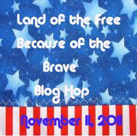 Land of the Free Because of the Brave Blog Hop