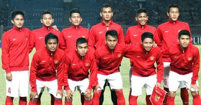 FOTO SKUAD INTI PEMAIN TIMNAS INDONESIA U-19