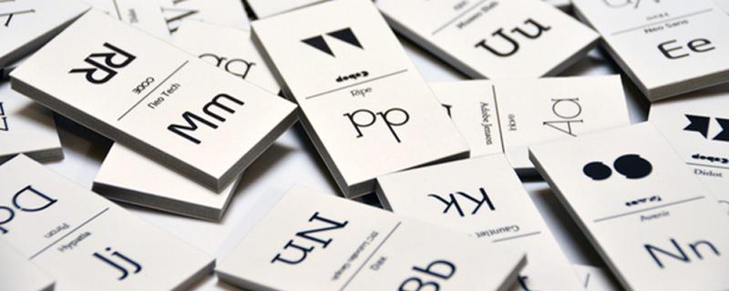 Dominó tipográfico