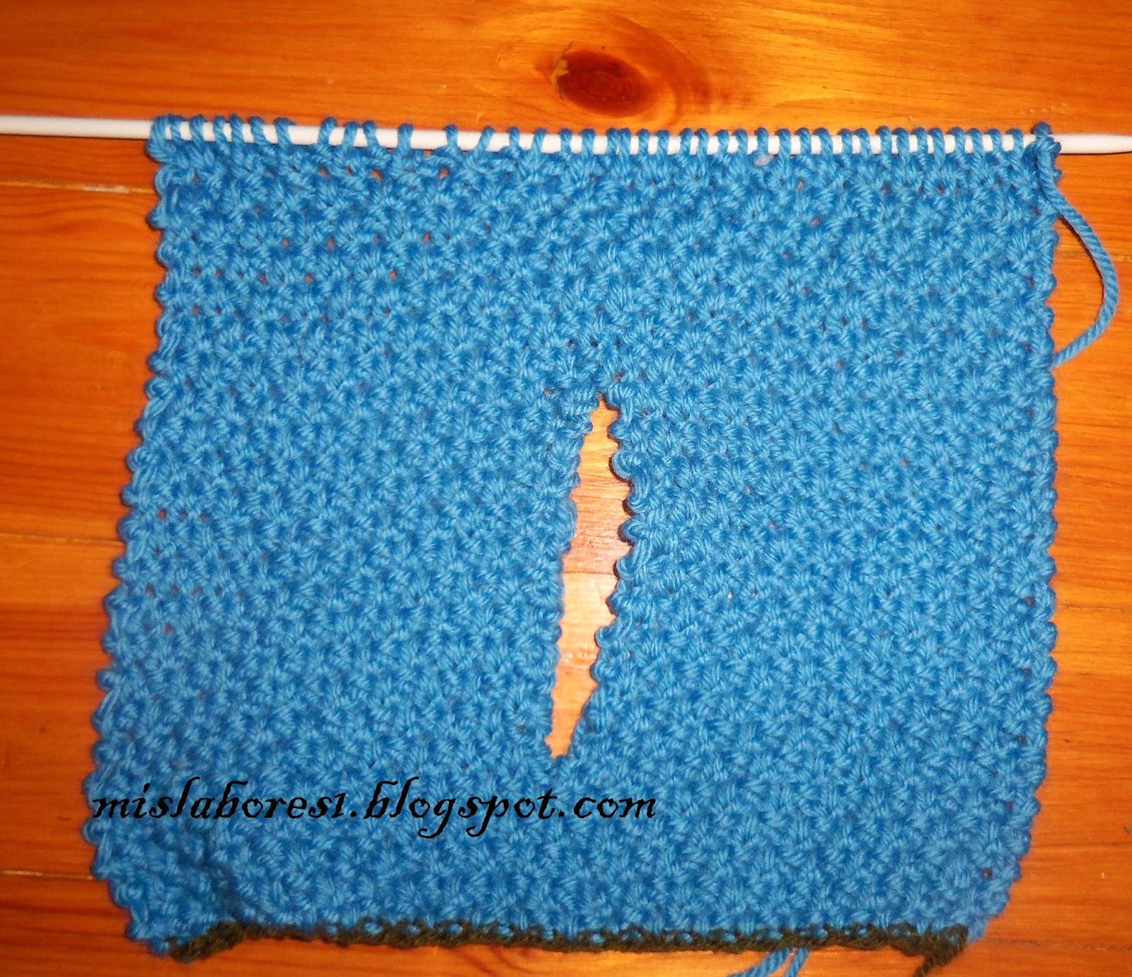 Mis labores cuello ocho grande - Puntos de lana ...