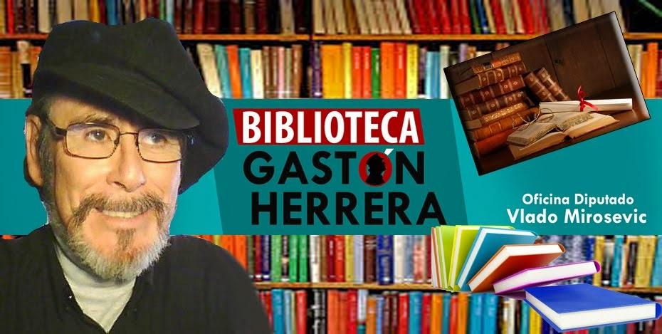 BIBLIOTECA PÚBLICA GASTÓN HERRERA