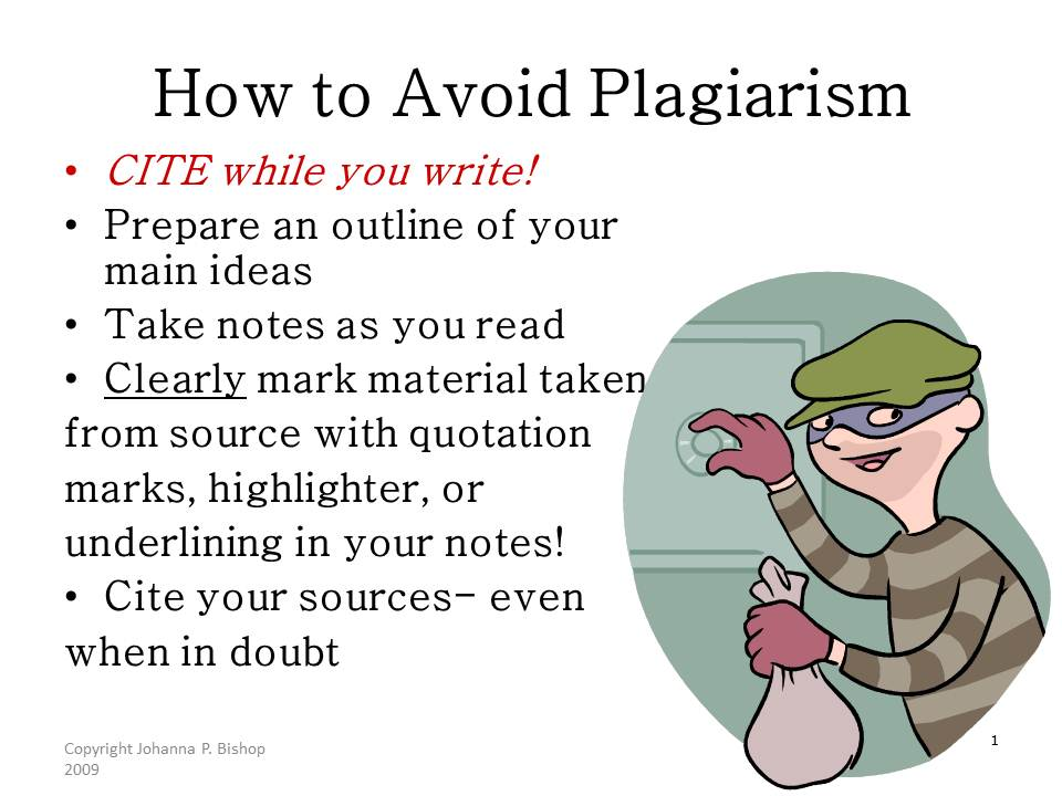 How to change an essay to avoid plagiarism