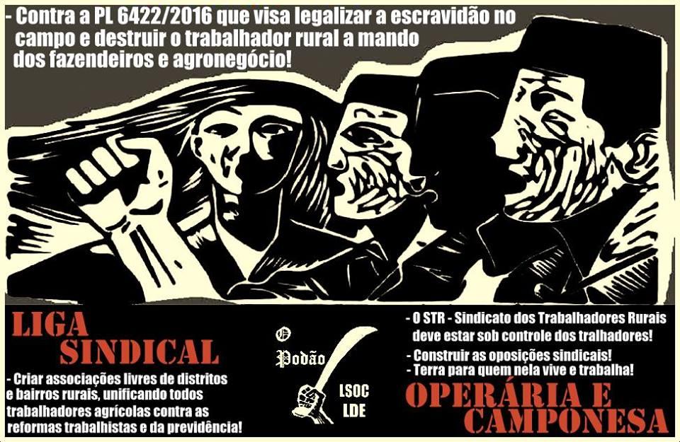 Contra a institucionalização da Servidão no Campo