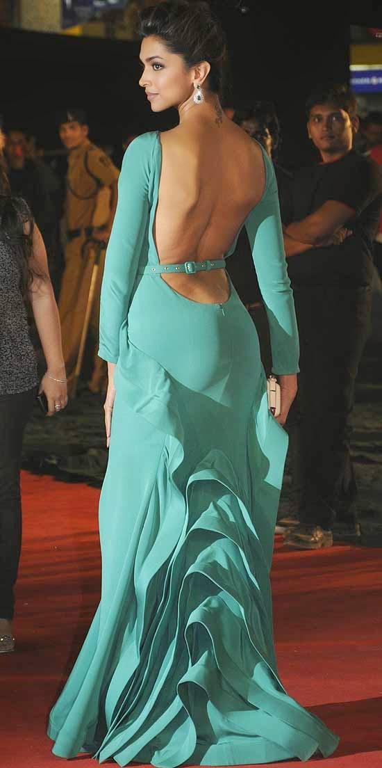 Deepika Padukone At The 18th Colors Screen Awards