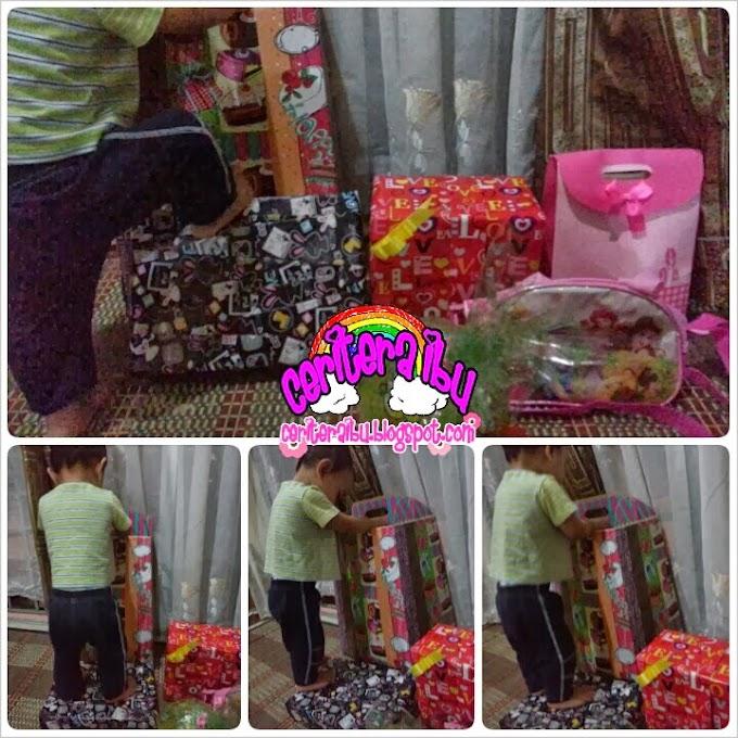 Hadiah Birthday Kakak Imani dan Adik Faris