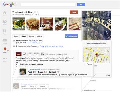 Google+ Local - Empfehlungen aus euren Kreisen erhalten