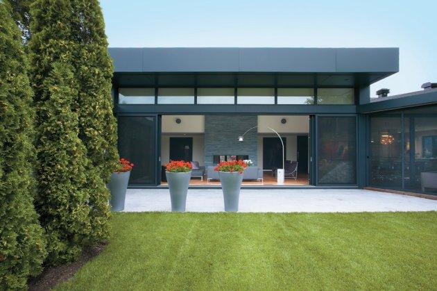 Exterior Home Designs Ideas Technology Homes Green Energy Wallpaper