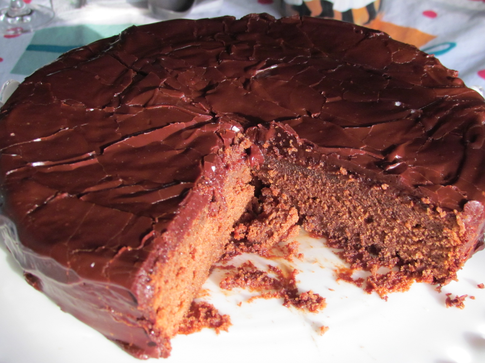 Barefoot Contessa Flourless Chocolate Cake Recipe Close