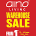 12 - 14 June 2015 Aino Living Warehouse Sale