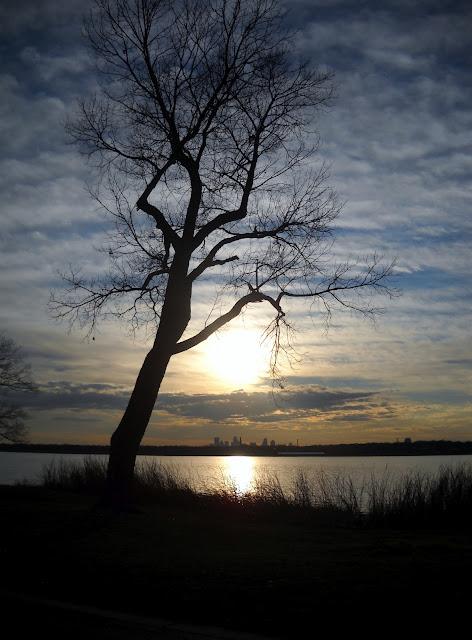Sunset at White Rock Lake, Dallas