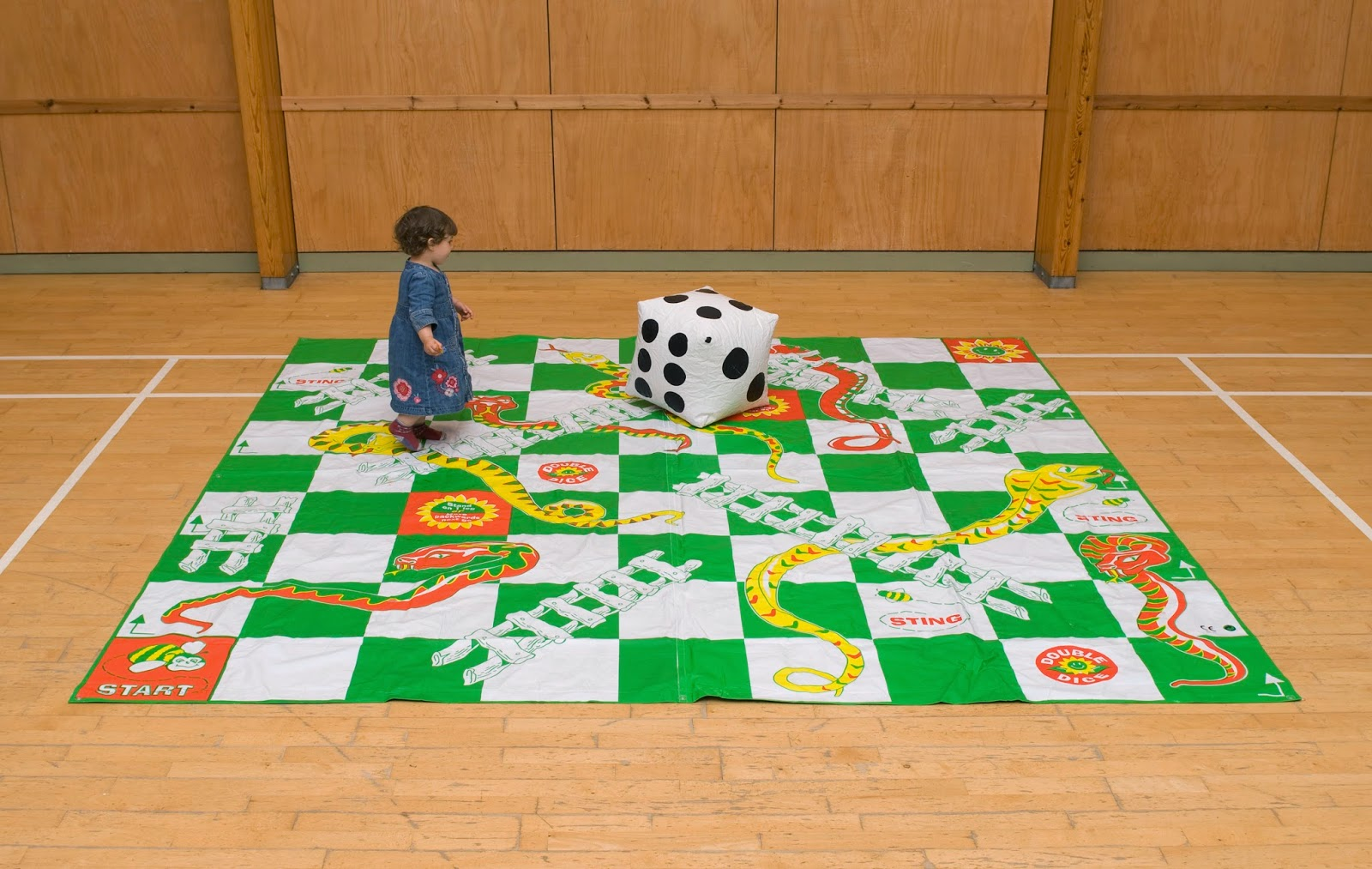 Snakes And Ladders on Snakes Ladders Floor Game