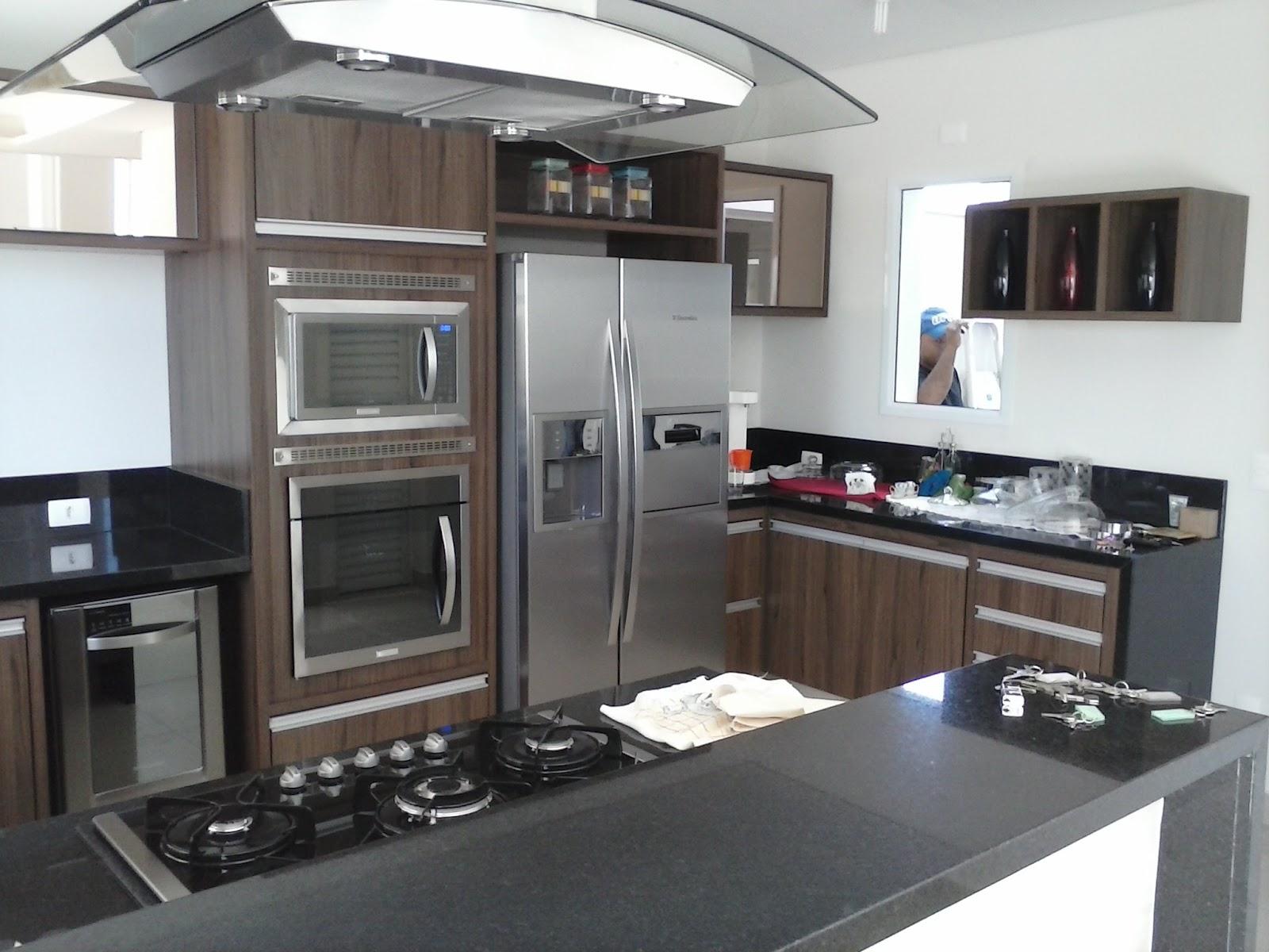 Móveis & Design o Bom Gosto em sua casa: cozinha moderna alto padrão #576274 1600 1200