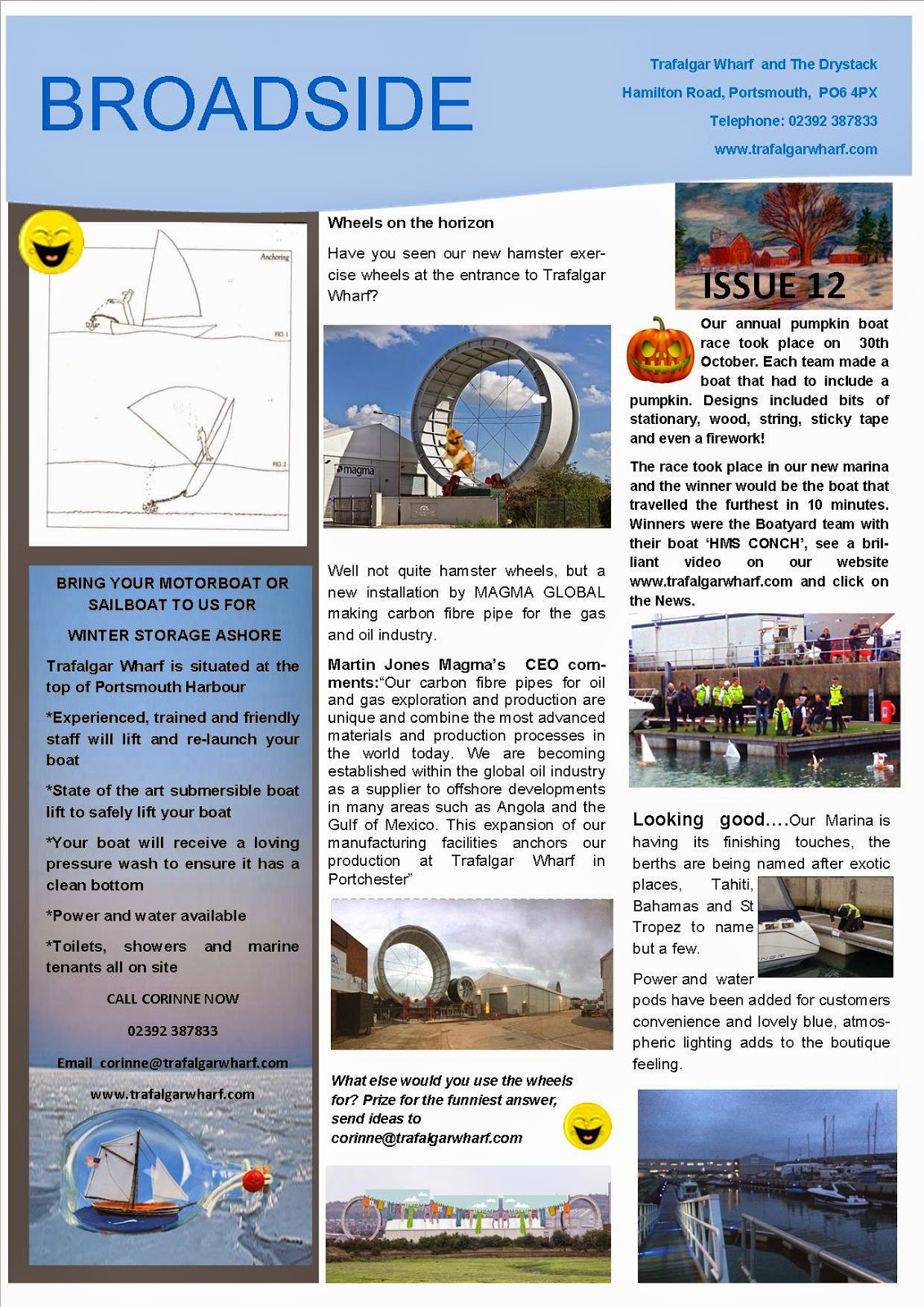 Trafalgar Wharf Newsletter Issue 12