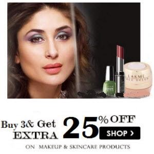 Amazon: Buy Lakme Beauty Products Minimum 10% to 41% off from Rs.90 : BuyToEarn