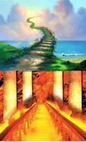 """Ebû Hüreyre (r.a.)'den rivâyete göre, Rasûlullah (s.a.v.) şöyle buyurdu:     """"Kıyamet günü Allah insanları büyük bir meydanda toplayacak ve alemlerin Rabbi olan Allah onlara şöyle diyecektir: Dikkat! Herkes dünyada kulluk ettiği şeye uysun. Bunun üzerine Haç'a tapanlara haç'ı, puta tapanlara putları, ateşe tapanları da ateşleri temsil edilecek onlarda dünyada kulluk yaptıkları bu şeylere uyacaklardır geride sadece Müslümanlar kalacak ve Alemlerin Rabbi olan Allah onlara şöyle buyuracaktır."""